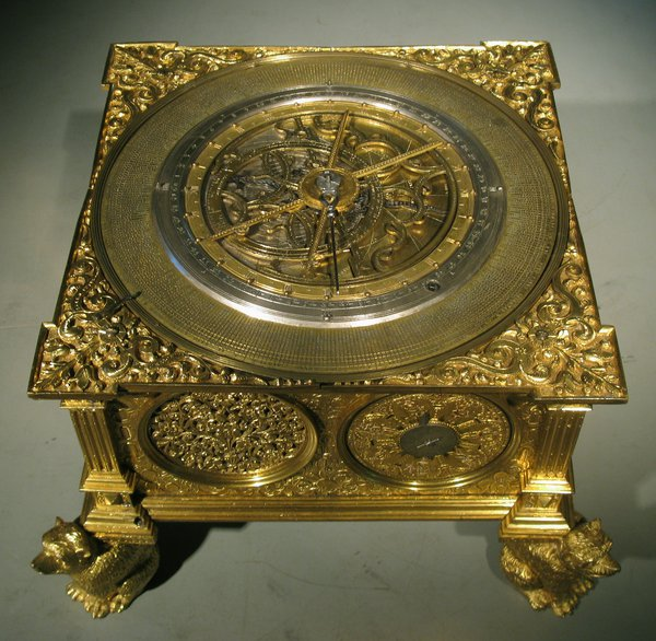 The Renaissance clock of the National Maritime Museum of Greenwich (object no. ZAA 0011)