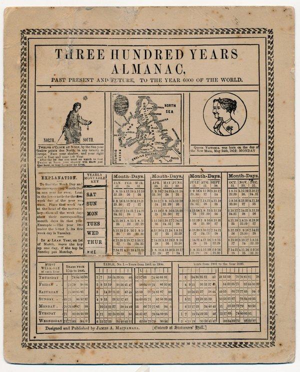 300 Year Almanac