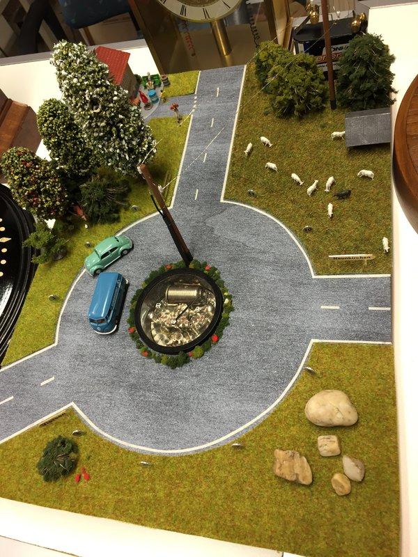 Outstanding urban diorama – a VW/Reform extravaganza