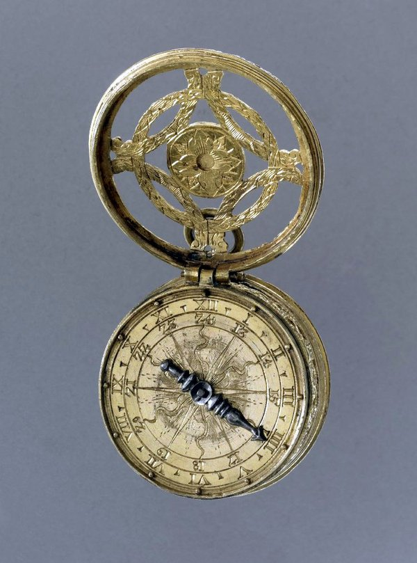 "Stackfreed watch, made by ""MS"" (unidentified) in Germany, c.1560 (British Museum, reg. No. 1989,0914.1)"