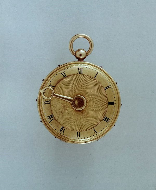 Montre à tact, made by Breguet & Fils in Paris, c.1824 (British Museum, reg. No. 1958,1201.1862)