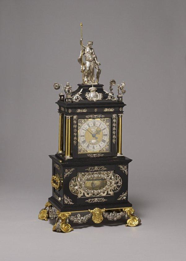 The Mostyn Tompion clock (©British Museum, Reg. No. 1982,0702.1)