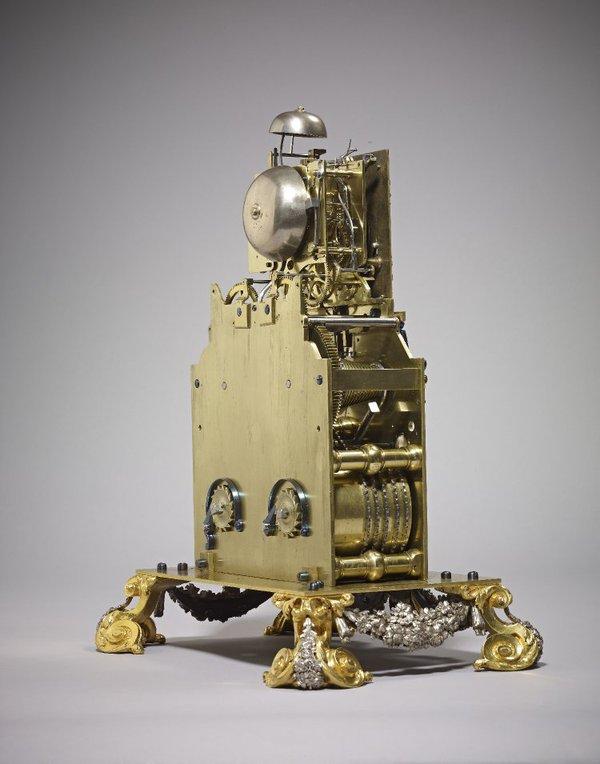 The movement of the clock (© British Museum)