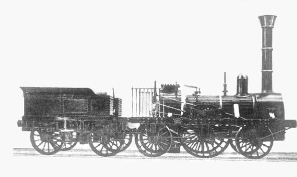The only known photograph of the Adler
