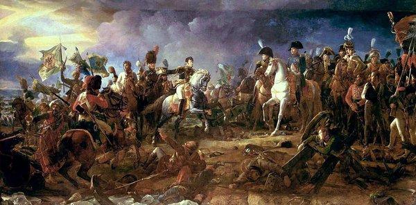 Napoléon at the Battle of Austerlitz, byFrançois Gérard(Galerie des Batailles,Versailles)