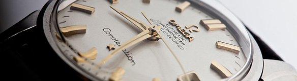 Omega watch closeup