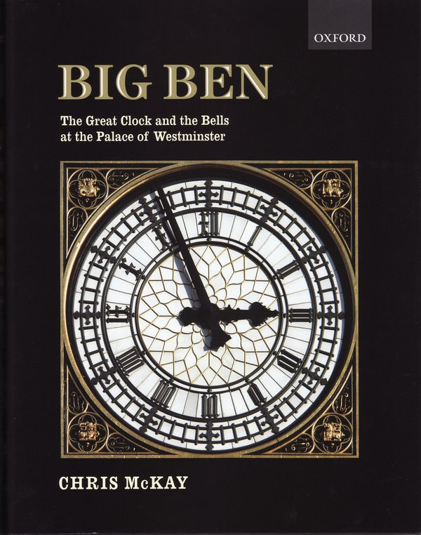 "Cover of ""Big Ben"", Chris Mackay, Oxford University Press, 2010"
