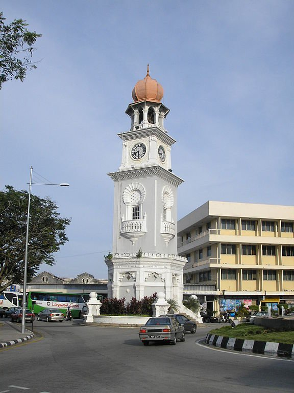 The 1897 Victoria Clock Tower in Georgetown