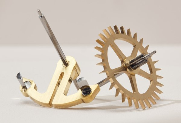 Finished Brocot escapement