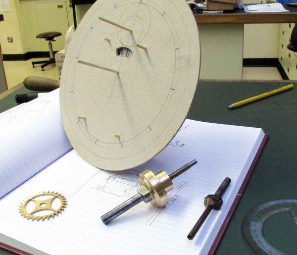 Clock-model-taking-shape