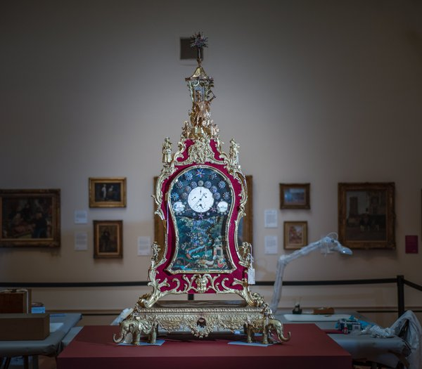 York automaton clock (photo  courtesy of York Museums Trust)