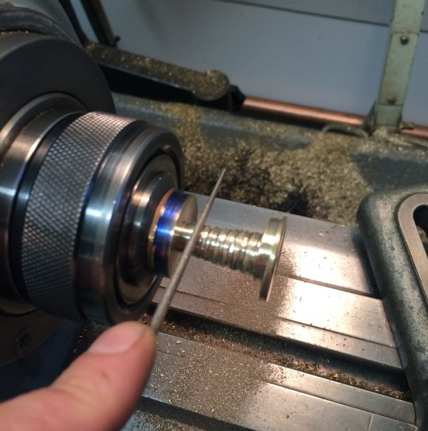 Filing a fusee