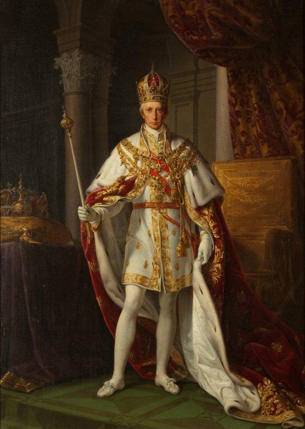 Emperor Francis II (1768 – 1835) Leopold Kupelwieser (Heeresgeschichtlichen Museum)