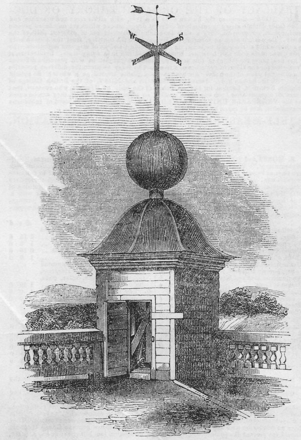 The 'ball turret' with the ball down