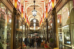 The watch club at the Royal Arcade, London