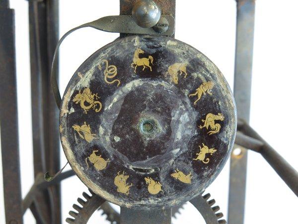 The lacquered calendar wheel