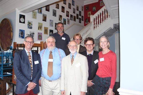 L-R, Jonathan Betts, Chris McKay, Keith Scobie Youngs, Ken Cobb, Matthew Read, Oliver Cooke, Alison Richmond (Image: BHI)