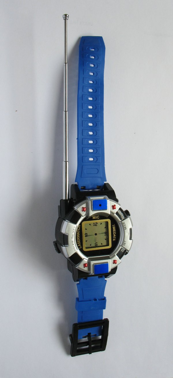 "Wristwatch with liquid crystal ""analogue"" display and walkie-talkie function, anonymous, Chinese, c. 2010"