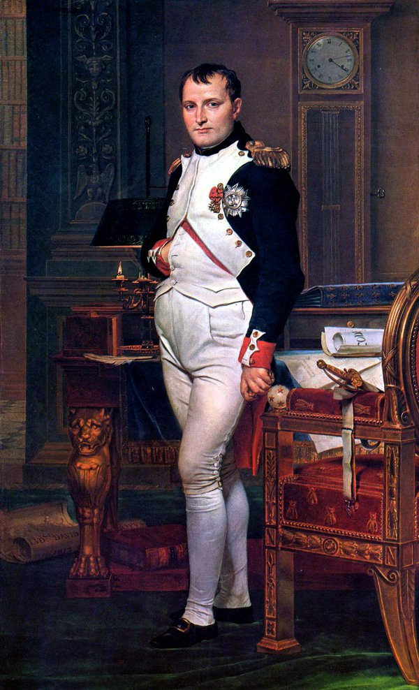 Napoleon Bonaparte (1769 - 1821), Jacques-Louis David (National Gallery of Art, Washington)