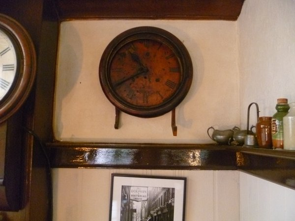 The clock found in the wreckage stopped at 10.40