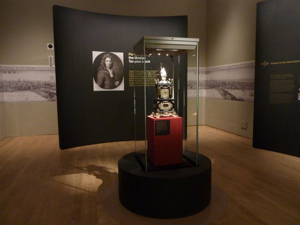 The Mostyn Tompion, now on special exhibition in Room 3 of the British Museum until 2nd February 2014