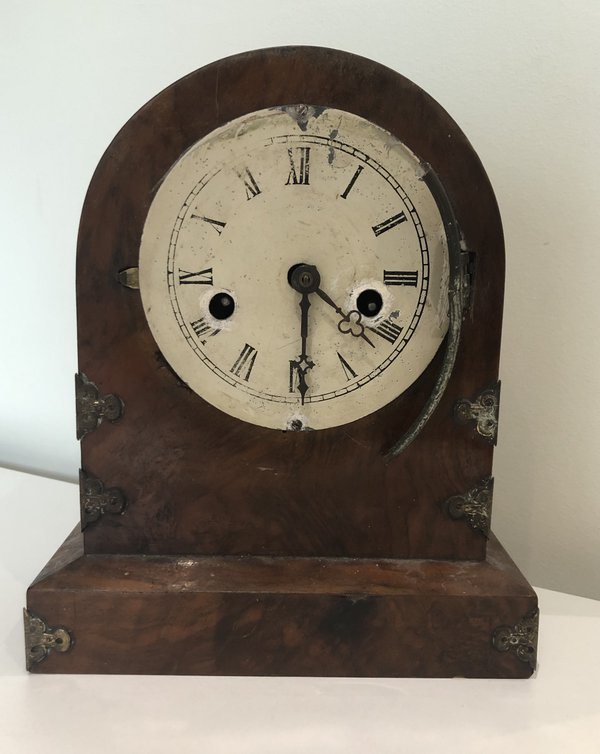 Clock with case