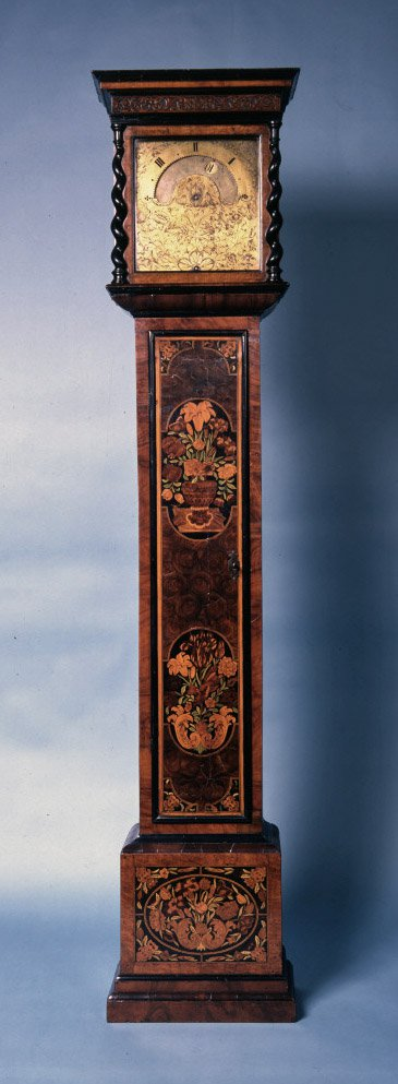 Eight day longcase night clock by Edward East, London, c.1675 (British Museum Reg. No. 1980,1002.1)