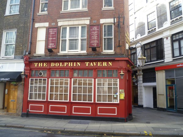 The Dolphin Tavern, 44 Red Lion St, London WC1R 4PF