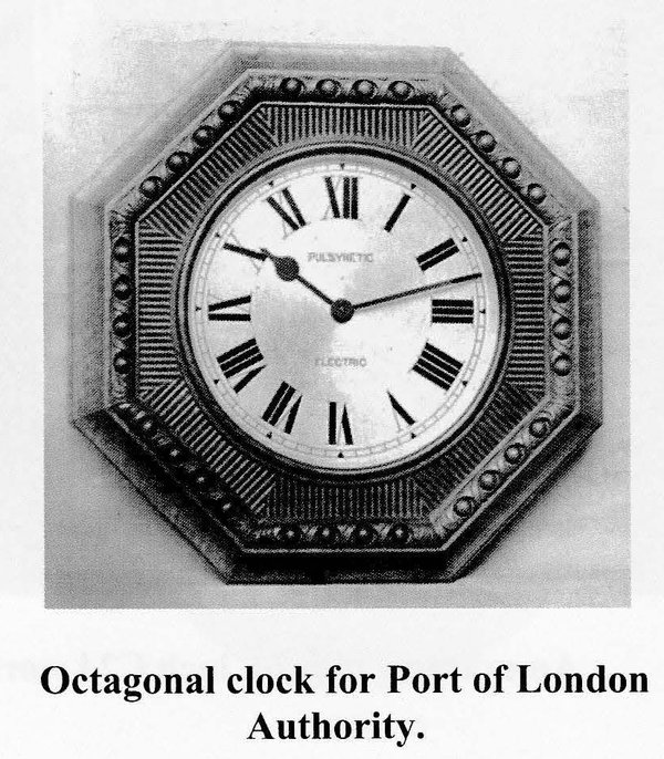 Original pattern dial, from Reynolds' Prospectus