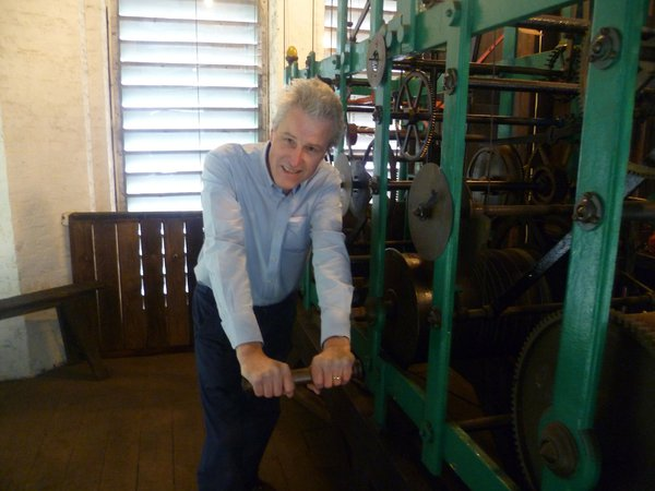 Winding the clock – good exercise